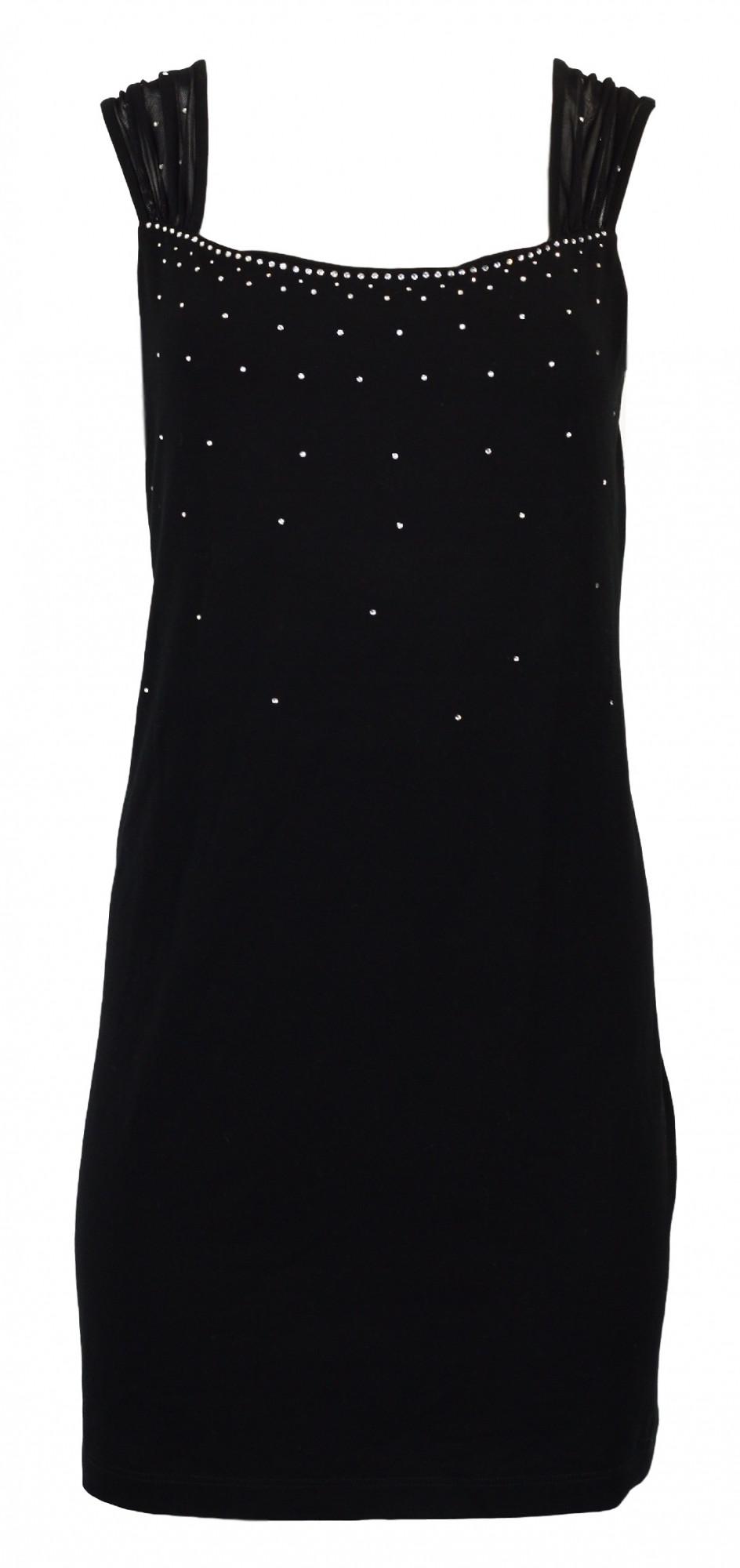 Dámské šaty Tilka - Favab Barva: černá, Velikost: L