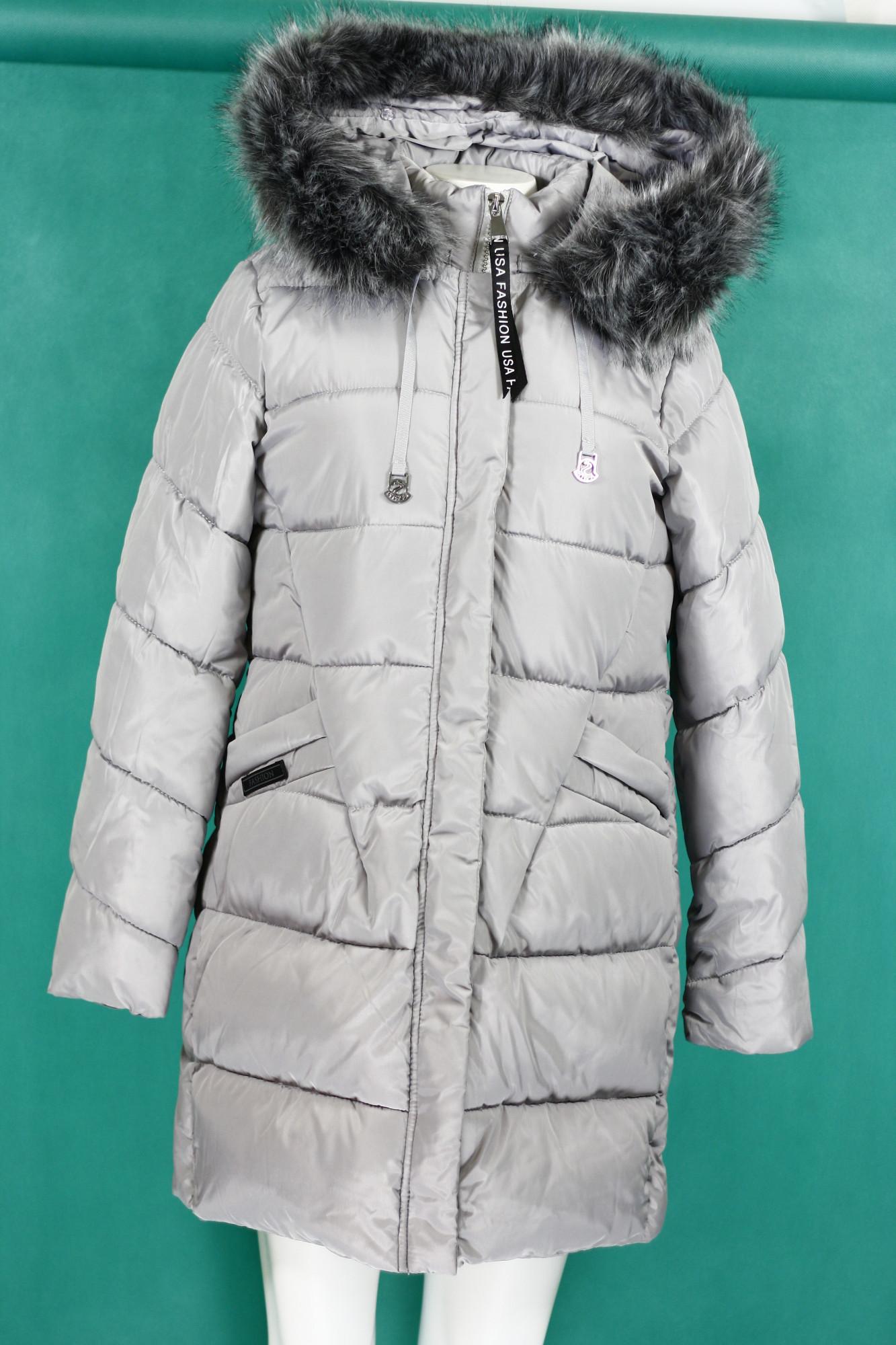 Dámská zimní bunda s kapucí BH-1765 (ty0180) - Forever Barva: růžová, Velikost: S