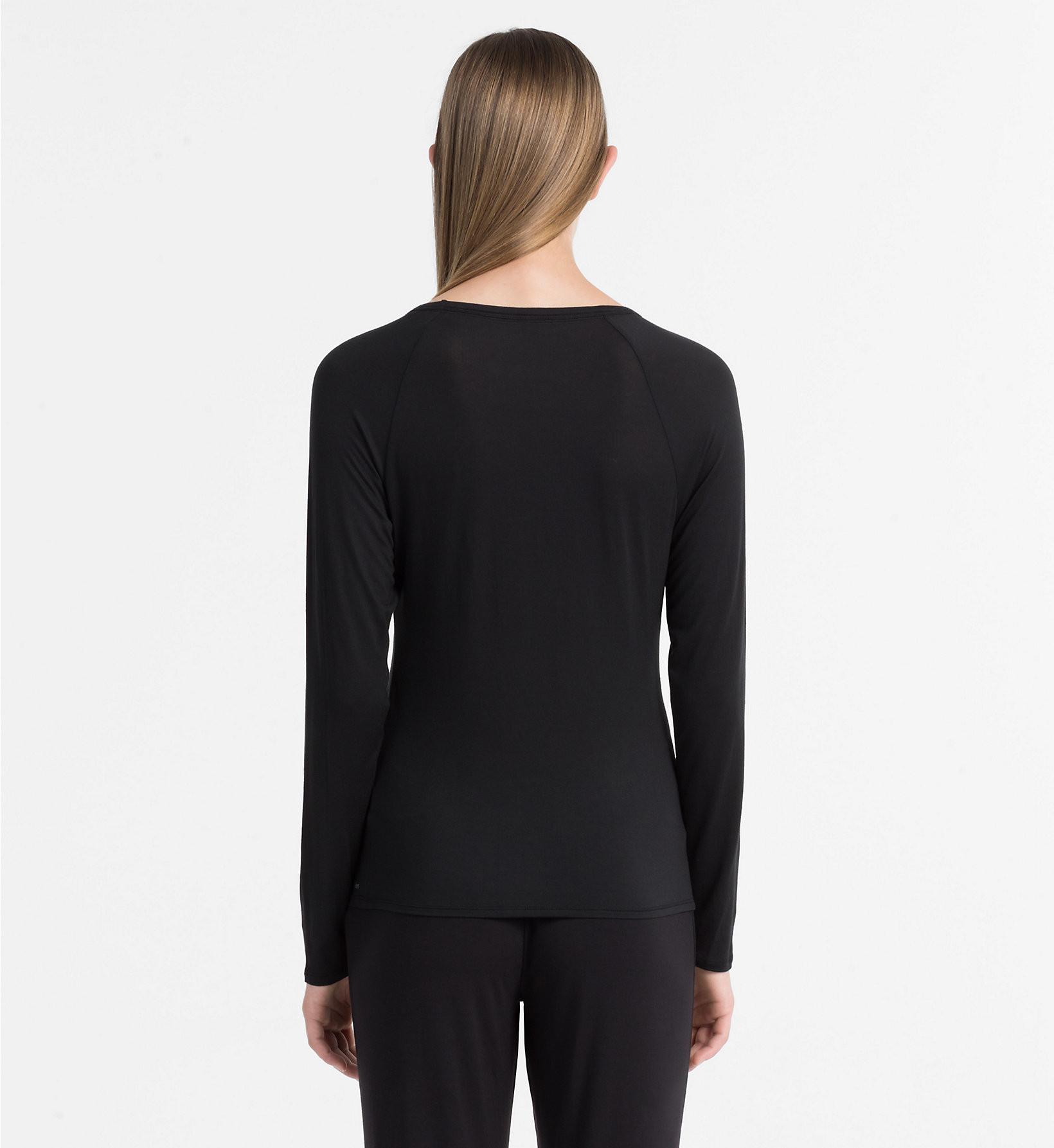 Dámské tričko QS5493E černá - Calvin Klein Barva: černá, Velikost: L