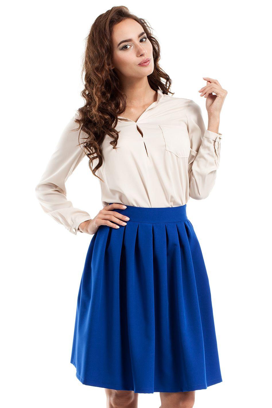 Dámská sukně M237 - MOE Barva: černá, Velikost: 38