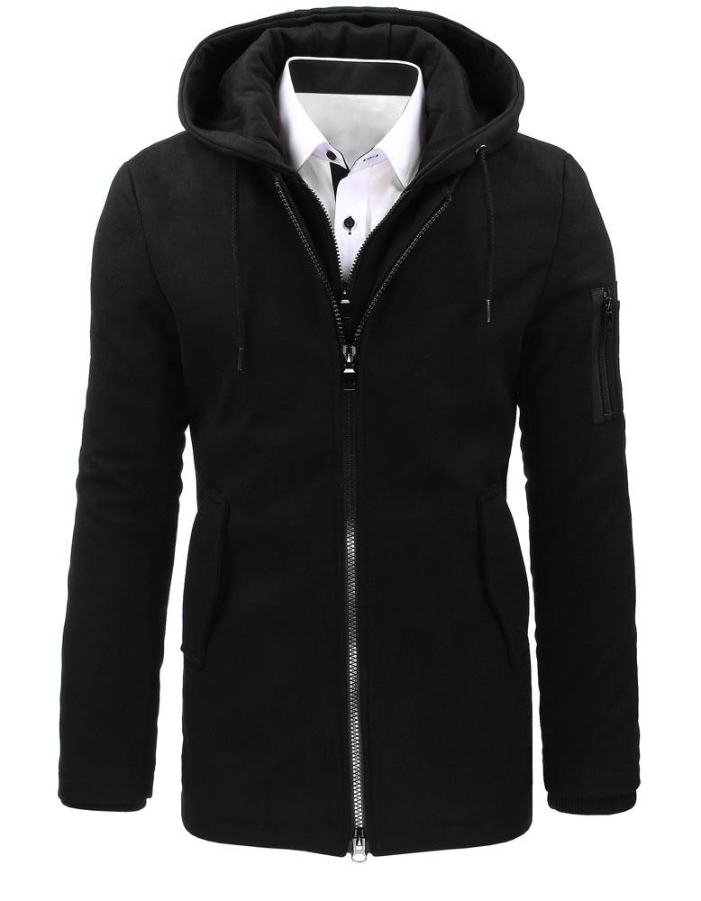 Pánský zimní kabát RBM-4831 (cx0358) - Nature černá L