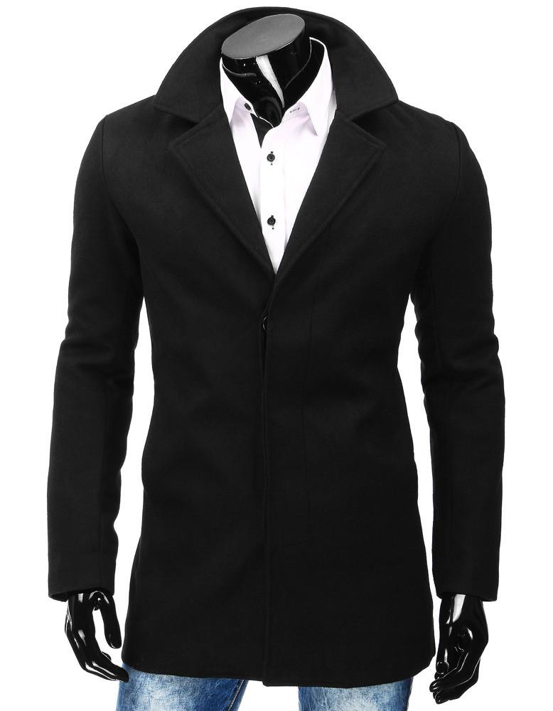 Pánský kabát RBM 4829 (cx0357) - NATURE fashion Barva: černá, Velikost: 2XL