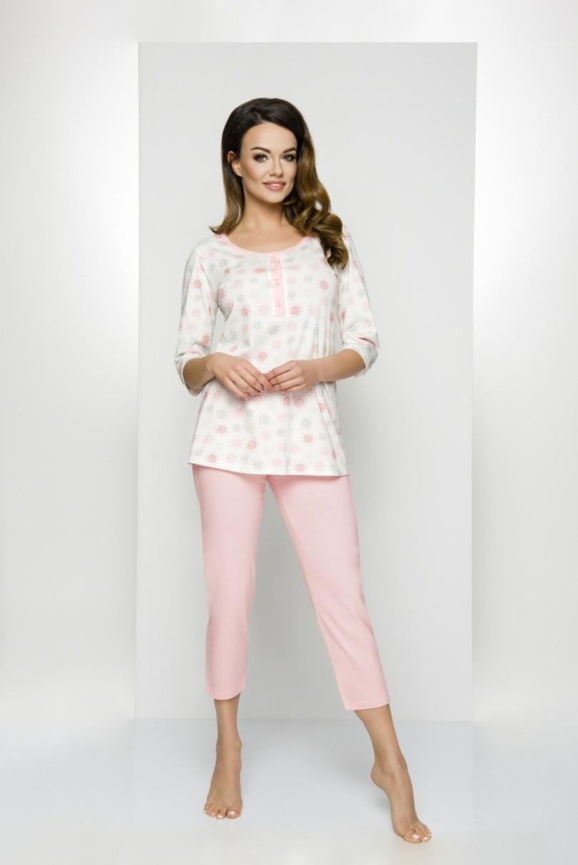 Dámské pyžamo 841 - Regina Barva: modrá, Velikost: XXL