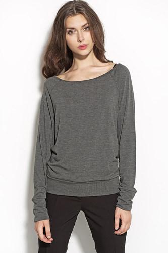 Dámská svetr halenka B53 - Nife Barva: smetanová, Velikost: 36