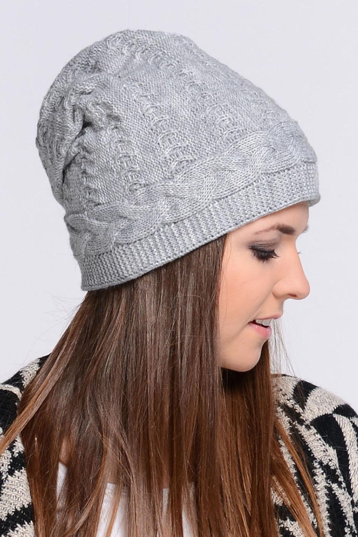 Dámská čepice Melanie - Kamea Barva: šedá, Velikost: uni