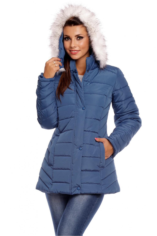 Dámská bunda 63556 - Cabba Barva: modrá, Velikost: 50
