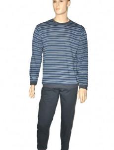 Pyžamo Cornette ,pánská 120 Barva: granátová, Velikost: L