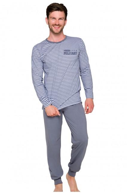 Pánské pyžamo MAX 374 šedá M