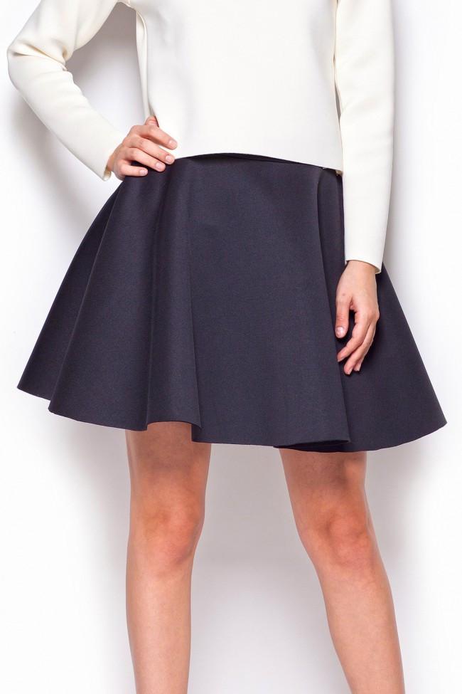 Dámská sukně M340 Figl Barva: černá, Velikost: M