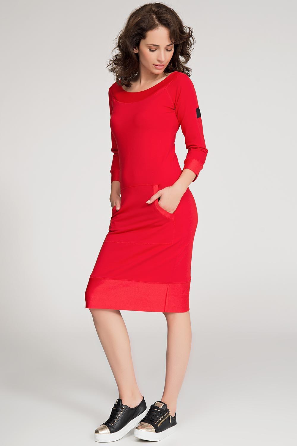 Dámské šaty NU26 - Numinou červená 40 05ed22c007a