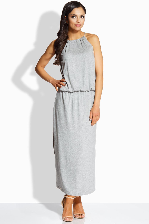 f932254e4c4 Dámské šaty L213 - Lemoniade šedá S