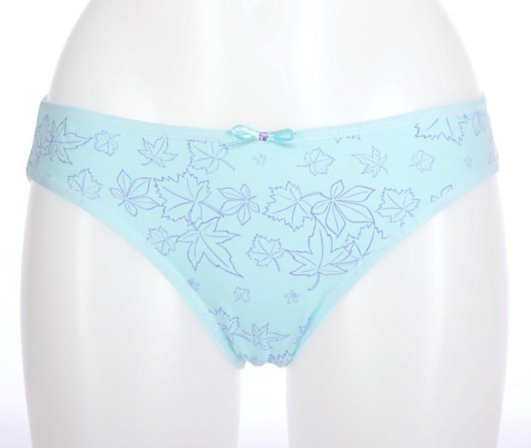 Dámské kalhotky Sofia 21371 - Donella Barva: sv. modrá s potiskem, Velikost: L