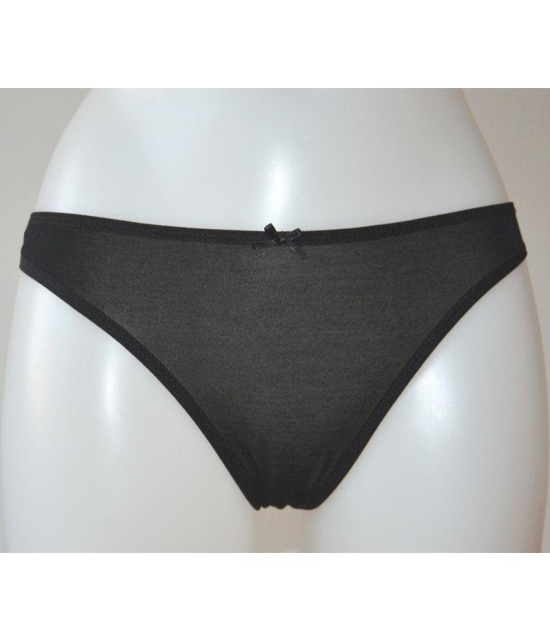 Dámské kalhotky Alex 4095Q - Donella Barva: černá, Velikost: M