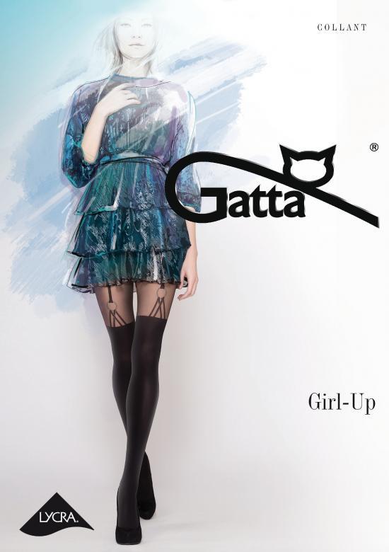 Punčochové kalhoty Girl-Up nr 26 Gatta Barva: černá, Velikost: M