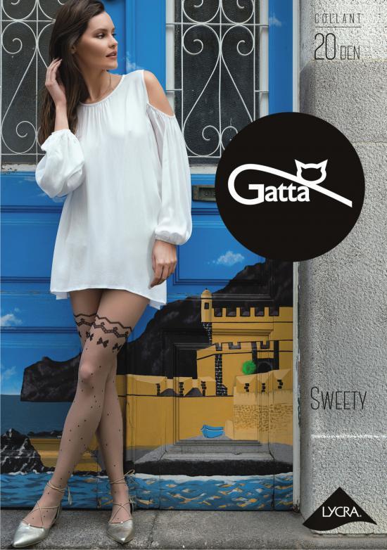 Punčochové kalhoty Sweety nr 16 20 den Gatta Barva: daino, Velikost: M