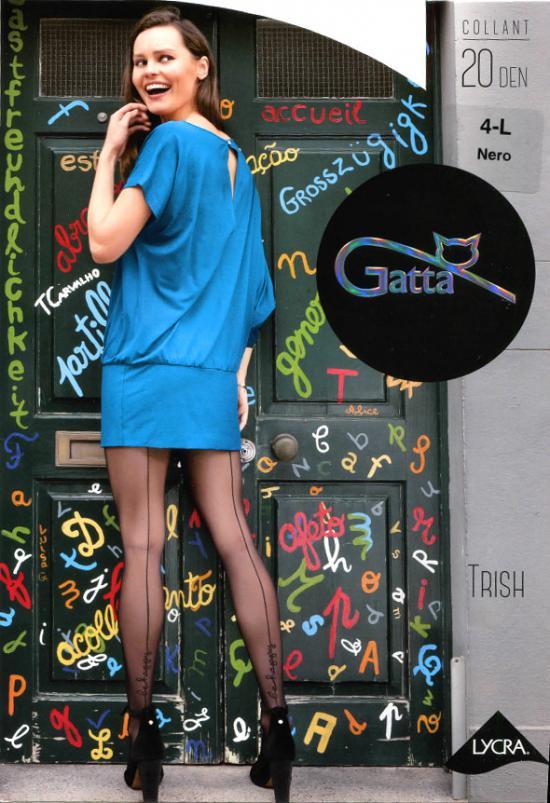Punčochové kalhoty Trish nr 25 20 den Gatta Barva: černá, Velikost: M