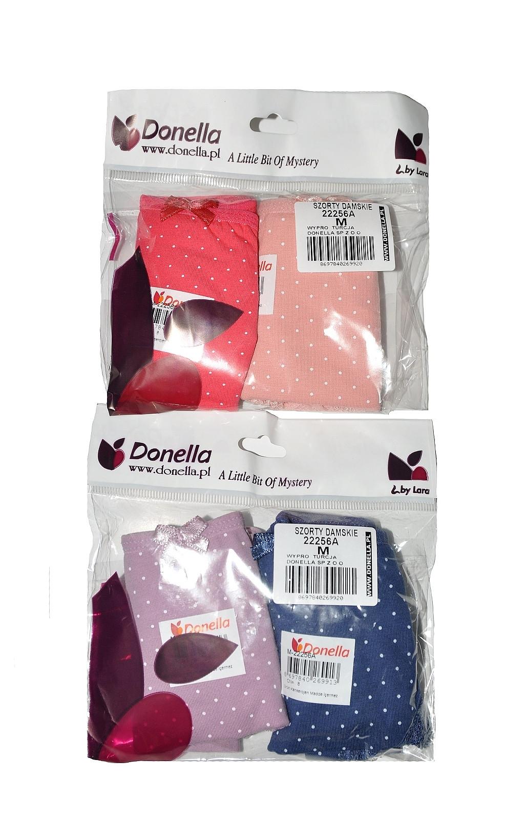 Kalhotky šortky 22256A A'2 Donella Barva: tm.modro-korálová, Velikost: L