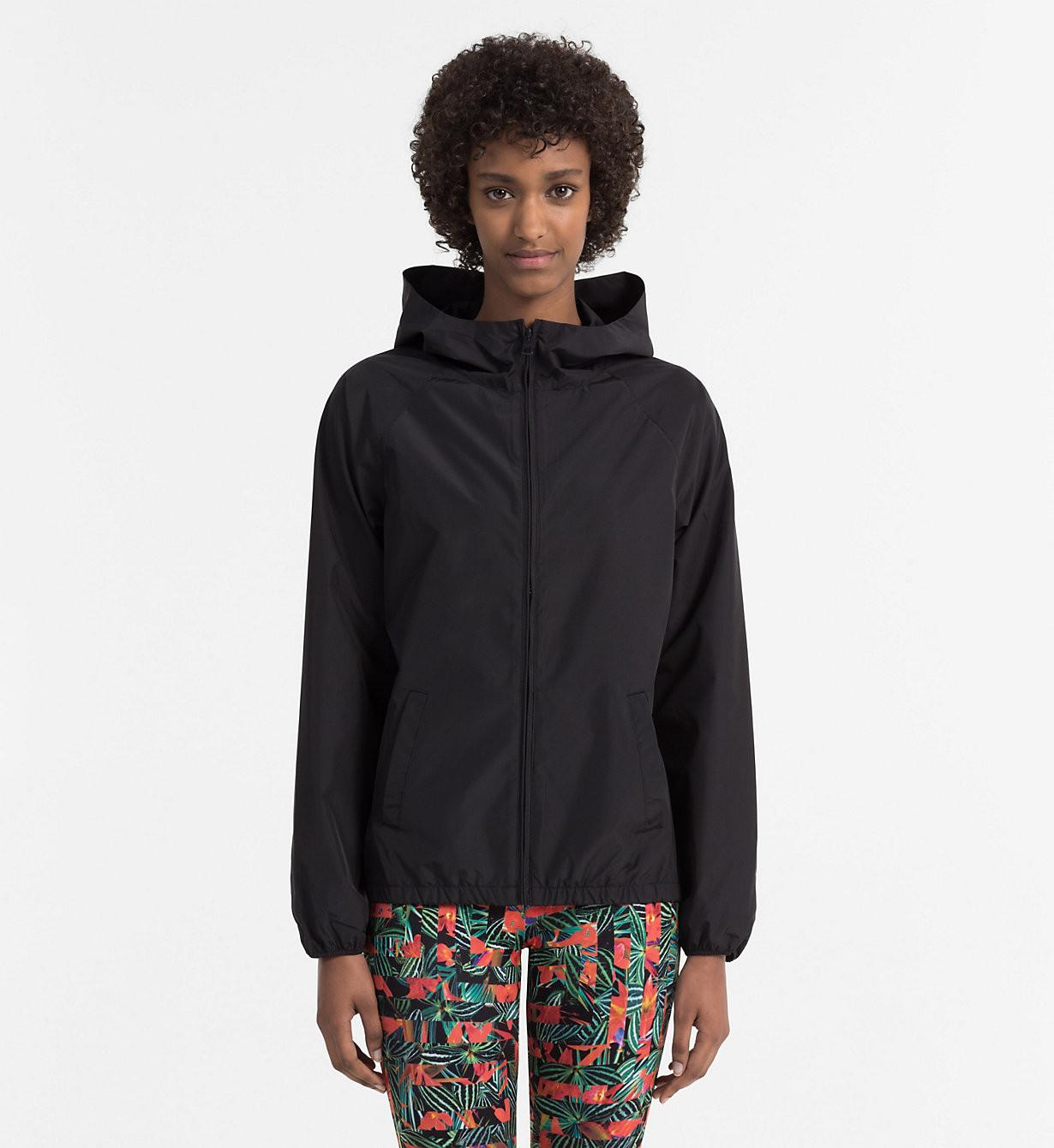 Dámská bunda KW0KW00368-001 černá - Calvin Klein Barva: černá, Velikost: M