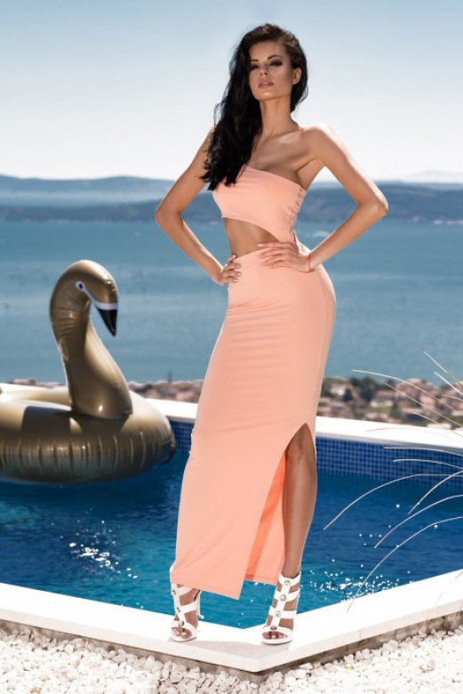 Dámské šaty Endless Love Dress - ChickChick broskvová L