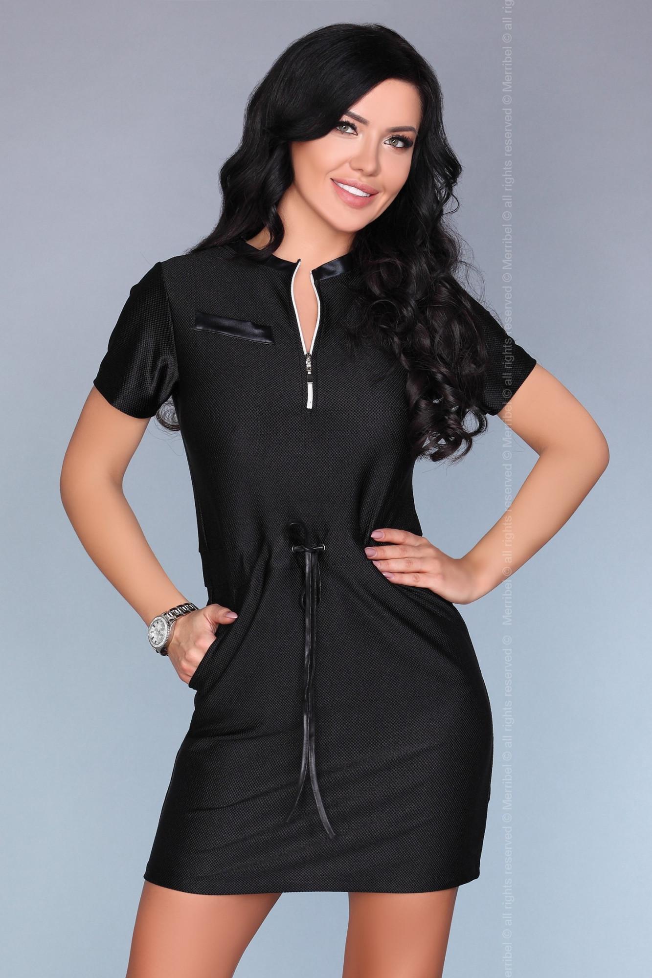 Dámské šaty model P30173 - Merribel černá L