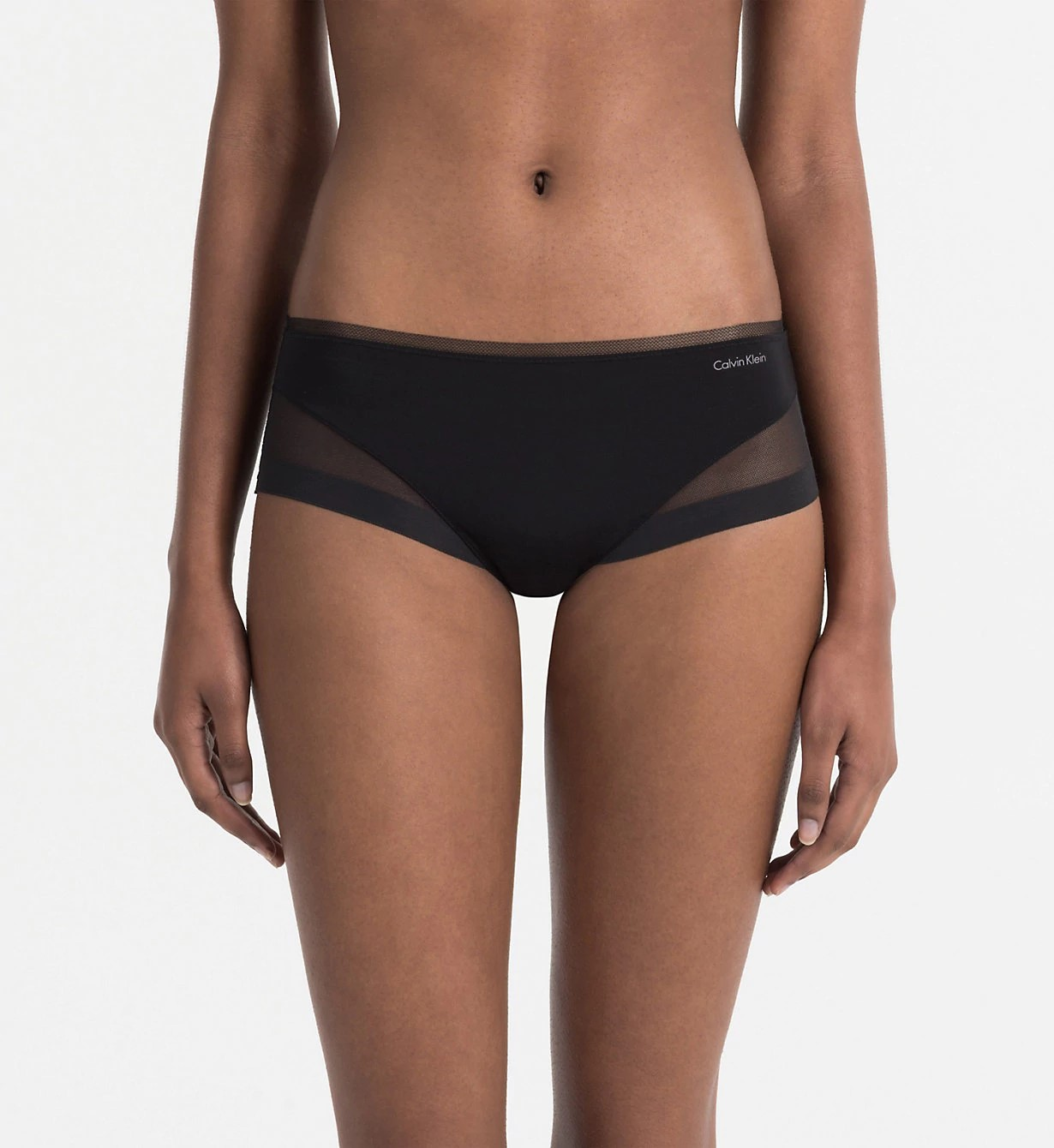 Kalhotky QF1709E černá - Calvin Klein černá XS