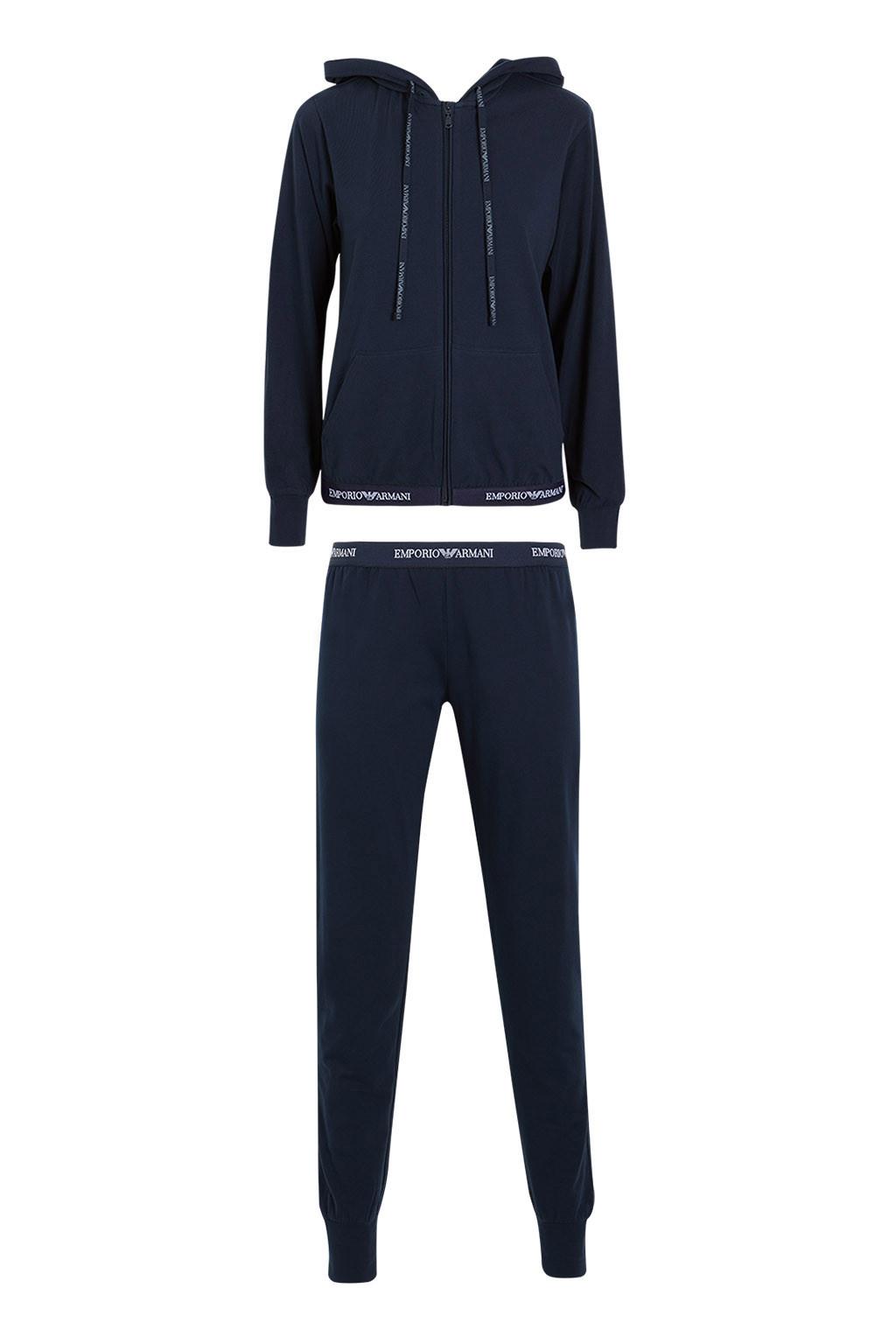 Dámské pyžamo 164145 CC270 00135 modrá - Emporio Armani modrá XL