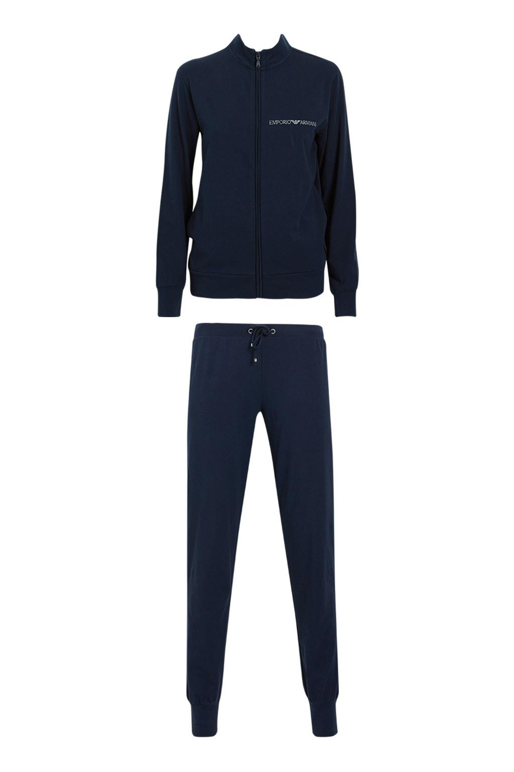 Dámské pyžamo 164146 CC270 00135 modrá - Emporio Armani modrá XL