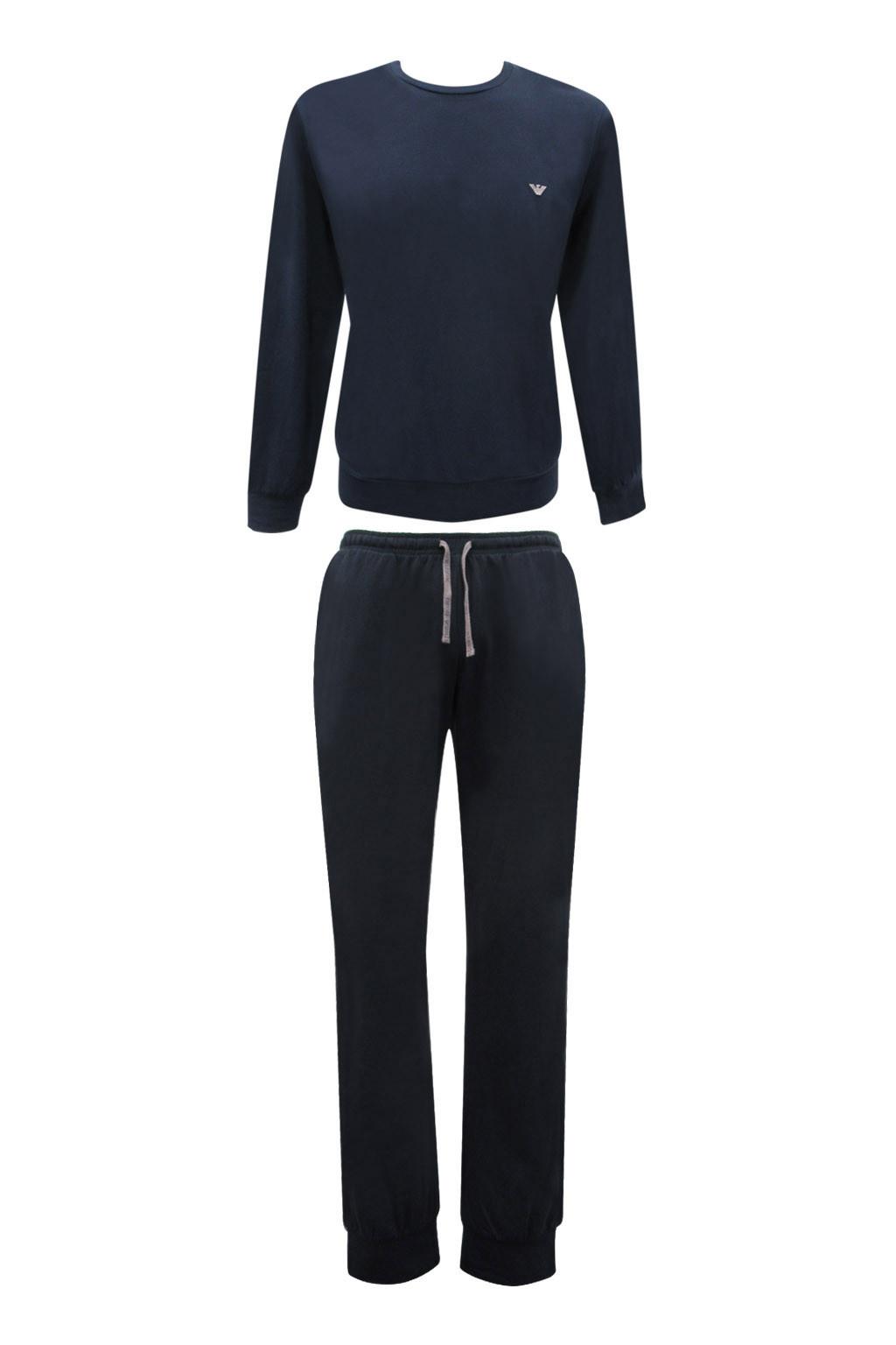 Pánské pyžamo 111794 CC570 00135 modrá - Emporio Armani modrá S