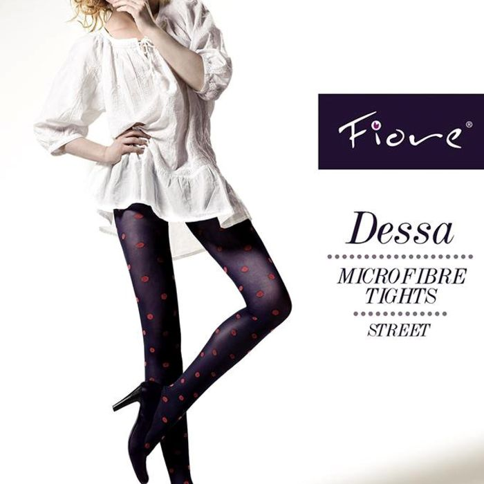 Punčochové kalhoty Fiore Dessa 40 den - Fiore černá 4-L