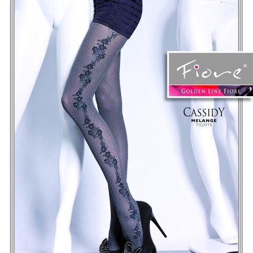 Dámské punčochové kalhoty Cassidy 5290 - Fiore černá 4-L