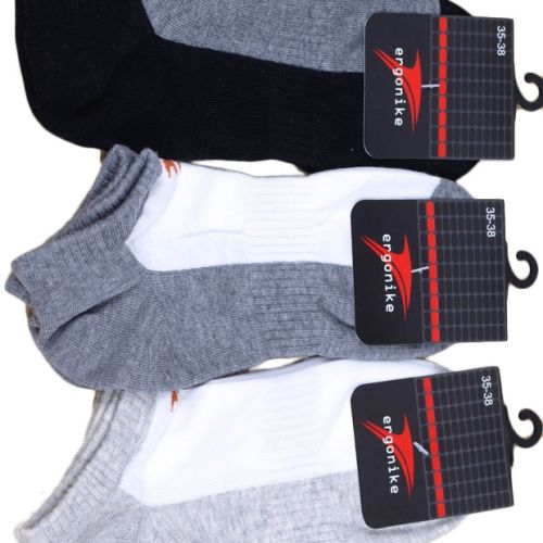 Pánské ponožky Ergonike G2 - Marilyn Barva: šedá, Velikost: 43-45