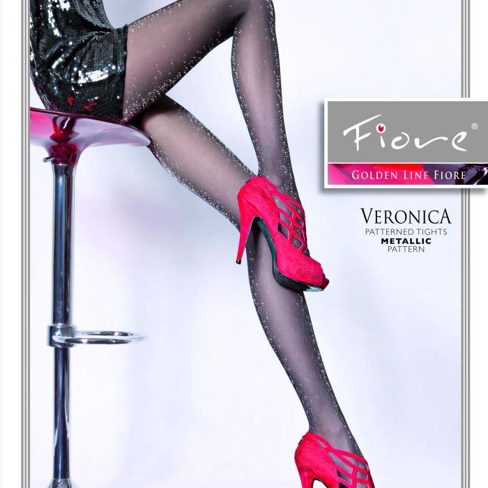 Dámské punčochové kalhoty Veronica 5122 - 20 den - Fiore černá 2