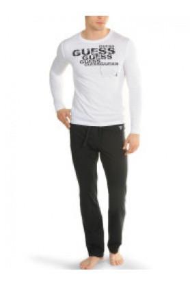 Pánské pyžamo UI5F30-JEL94 - Guess Barva: černá, Velikost: XL
