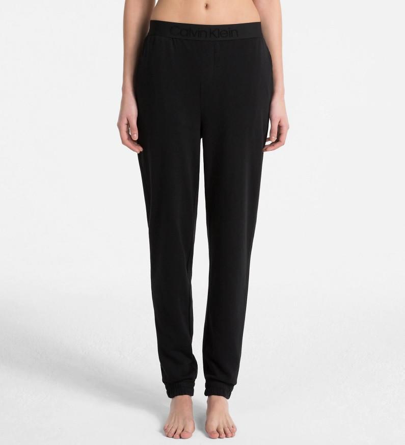 Dámské kalhoty na spaní QS6163E-001 černá - Calvin Klein Barva: černá, Velikost: XS