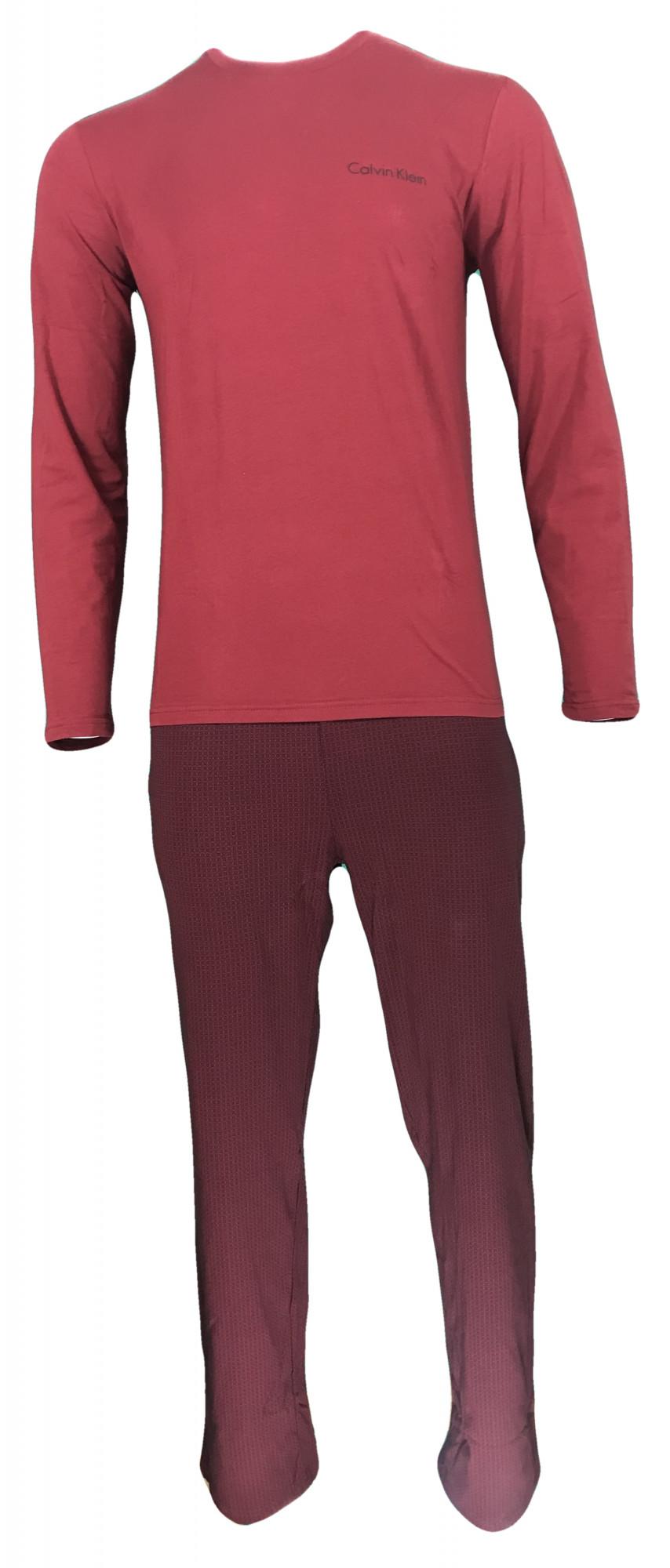 Pánský set NM1607E-QBN červená - Calvin Klein Barva: červená, Velikost: M