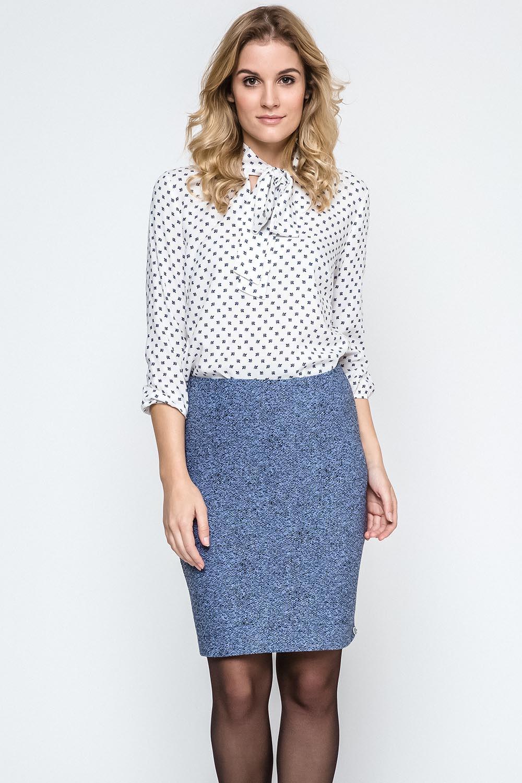 Dámská sukně 240131 - Ennywear modrá - žíhaná 42 983ccb1e34