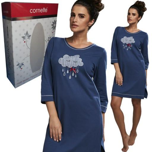 Dámská noční košile 641/188 - Cornette růžová S