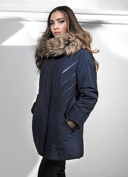 9add17b17b Dámský kabát Kira - Getex Barva: černá, Velikost: 42