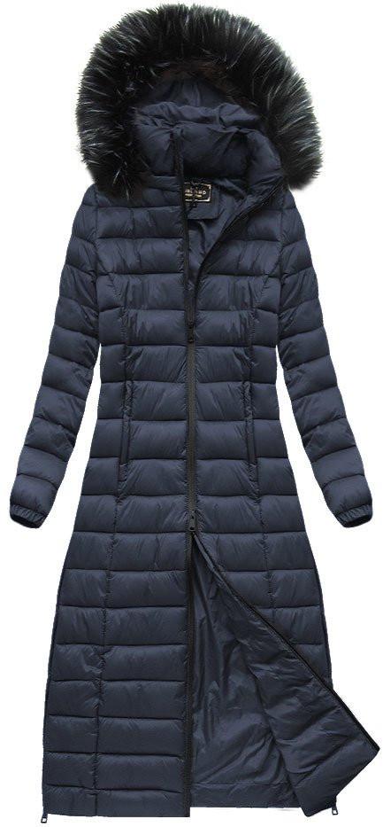 Dámský prošívaný kabát 7758 - LIBLAND černá L c8606db142