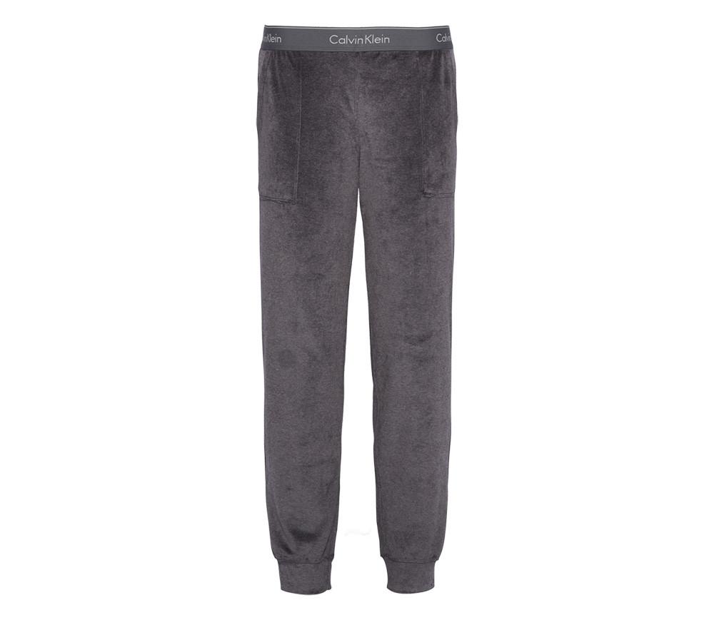 Dámské tepláky QS6147E-9JG tmavě šedá - Calvin Klein tmavě šedá XS