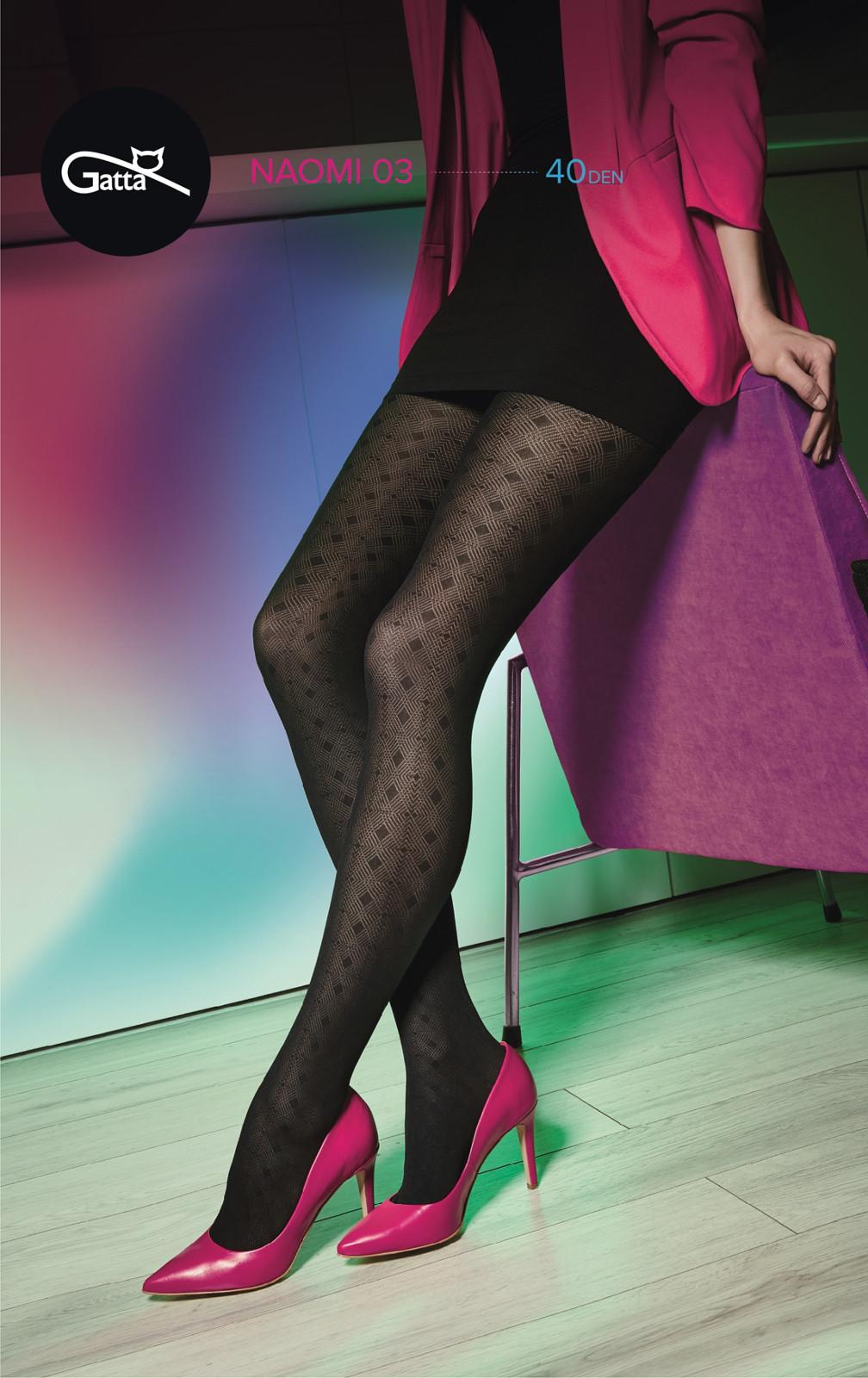 Dámské punčochové kalhoty Naomi 03 - 40 den - Gatta černá 4-L 65c8dbadbe