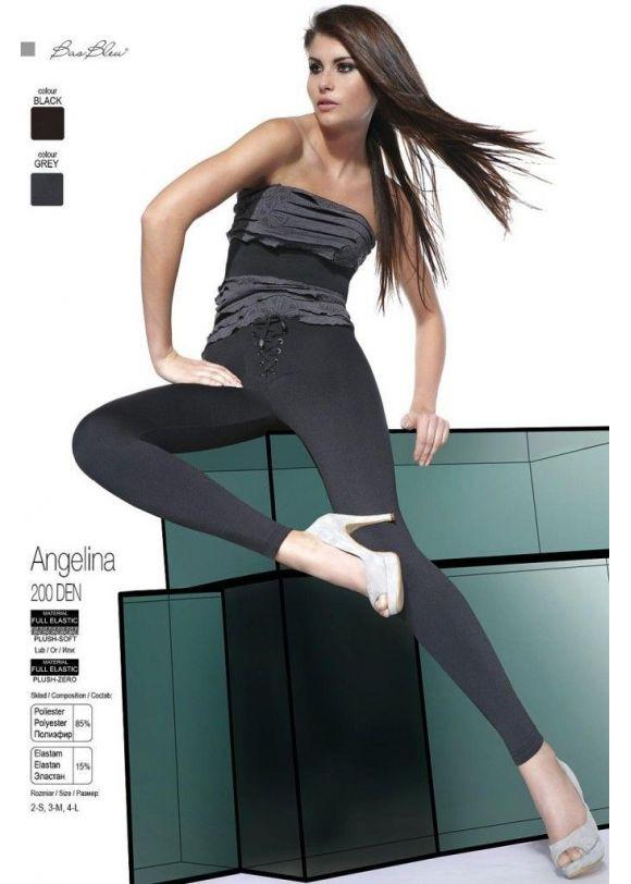 Dámské legíny Angelina - Bas Bleu černá M