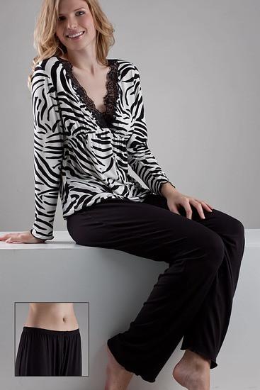 Dámské pyžamo 81112 - Gattina Barva: originál, Velikost: 40