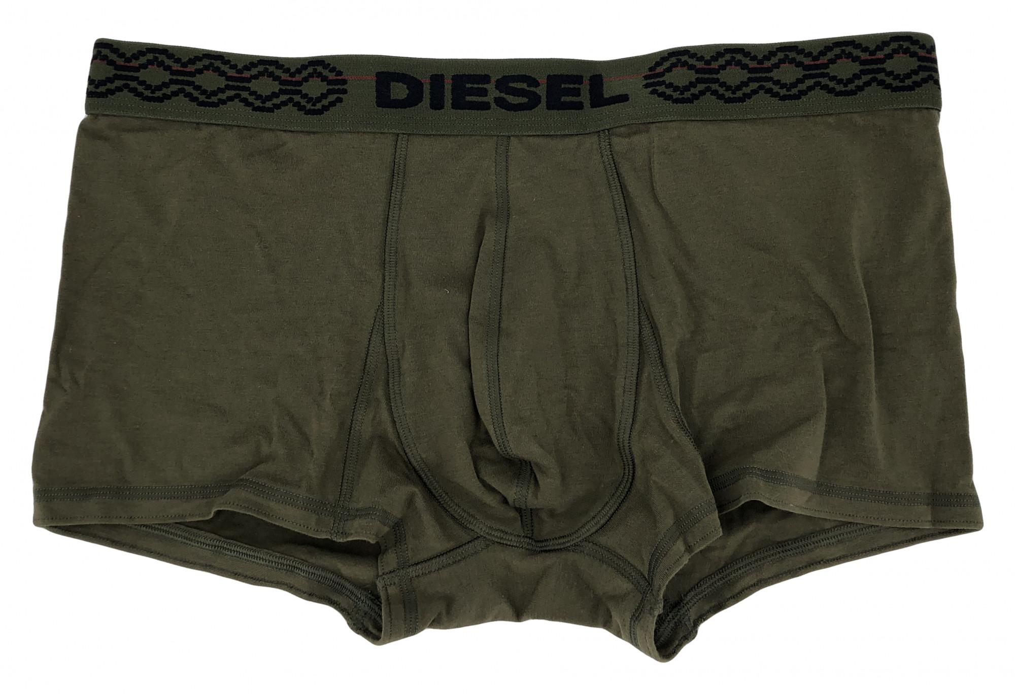 d1e9b40fa Pánské boxerky DSL07FB3363 khaki - Diesel khaki XL