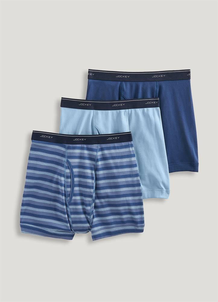 cd62036466 Pánské boxerky 3 pack 17302913-457 modrá - Jockey modrá XL