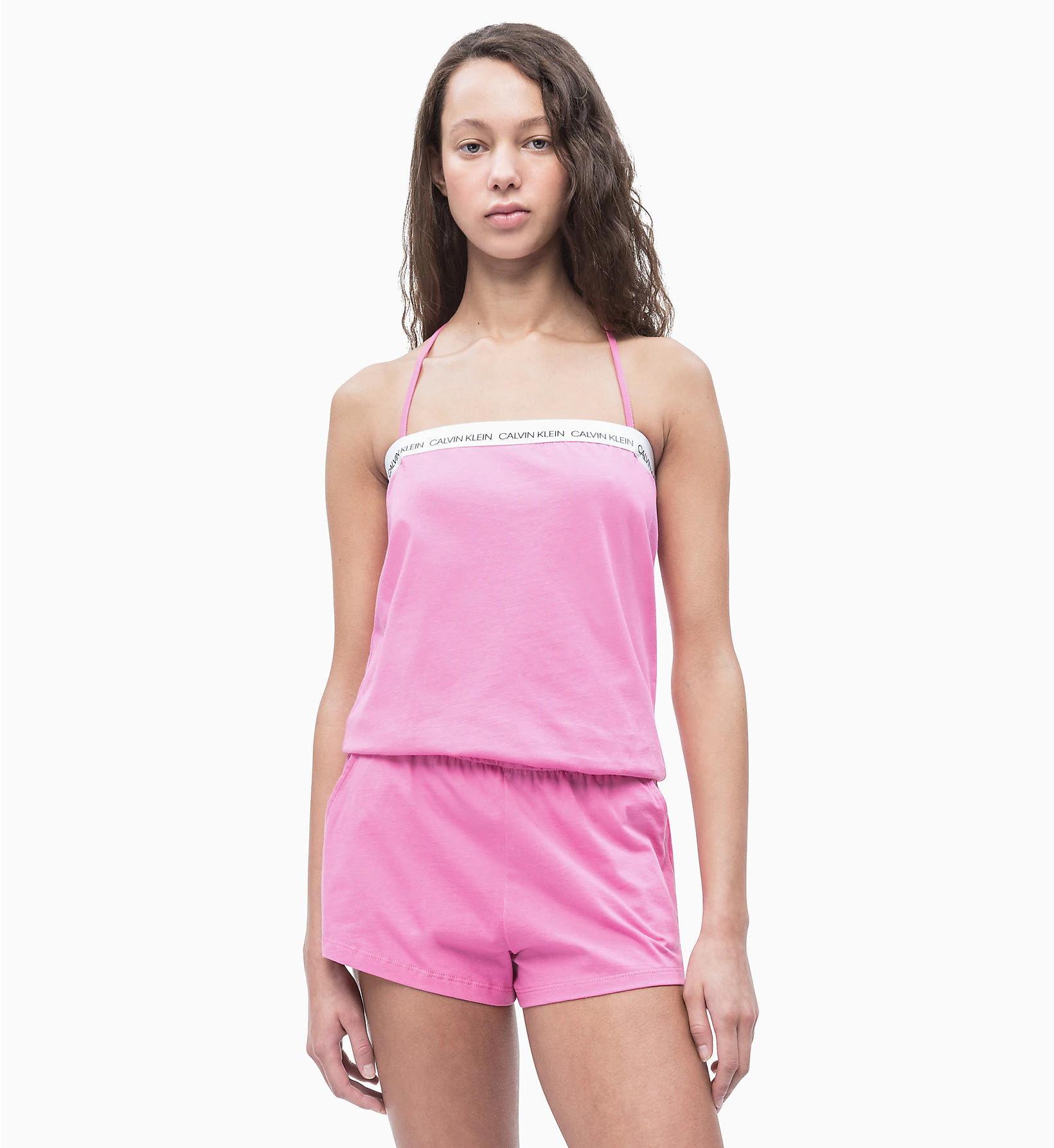 Overál KW0KW00713-658 růžová - Calvin Klein růžová M