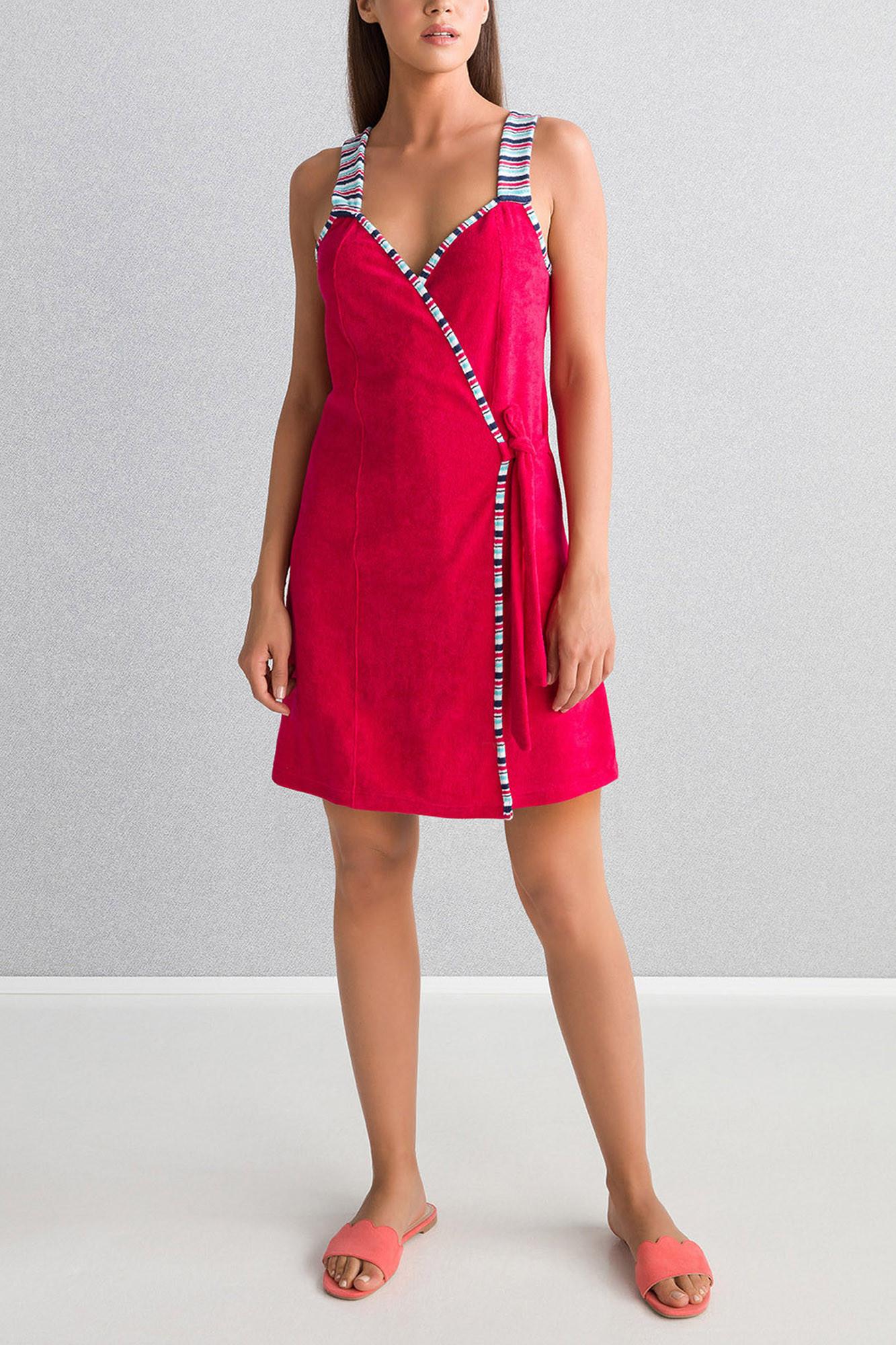 Plážové šaty 6107 - Vamp malinová L
