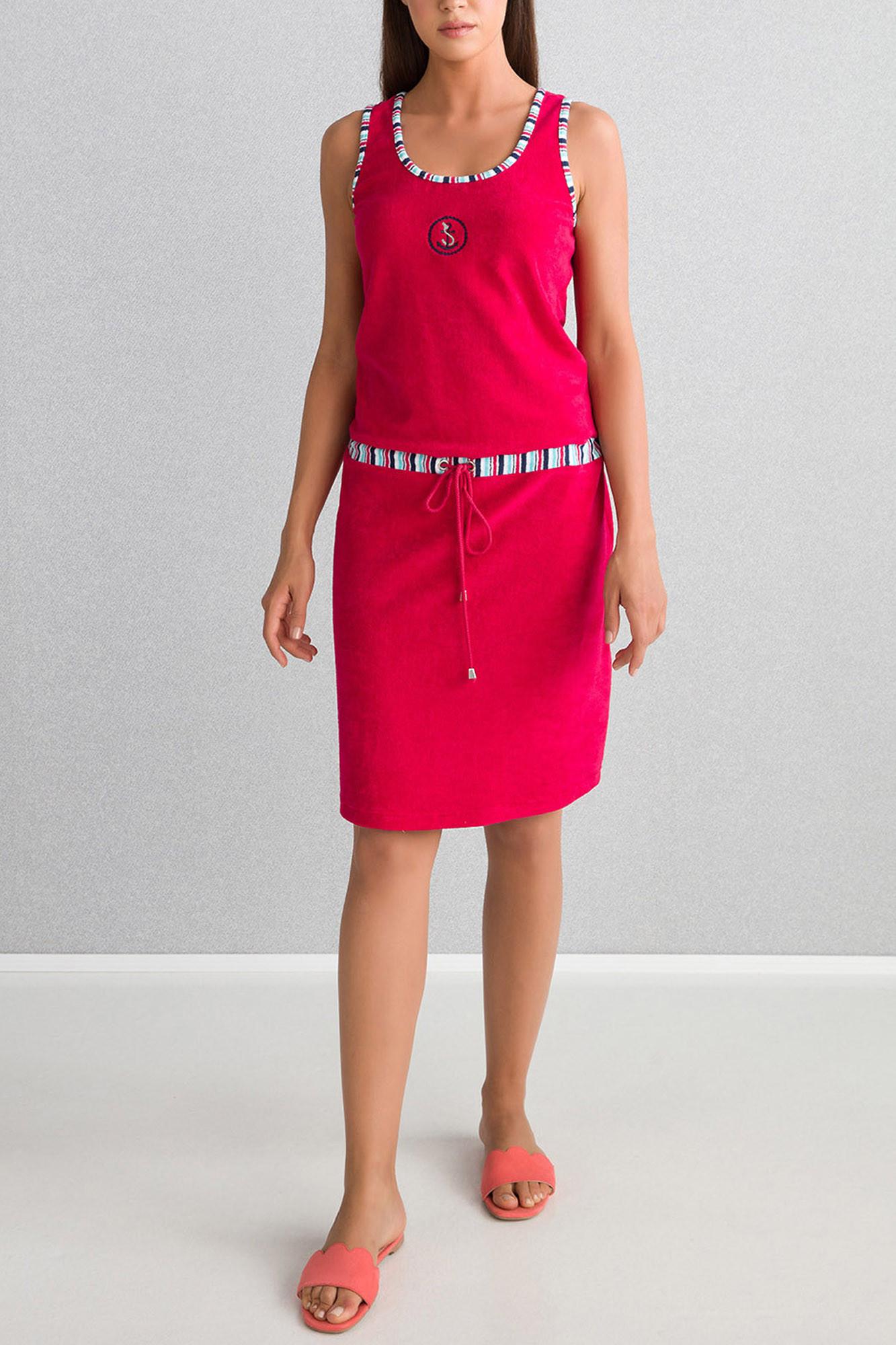 Plážové šaty 6105 - Vamp malinová S