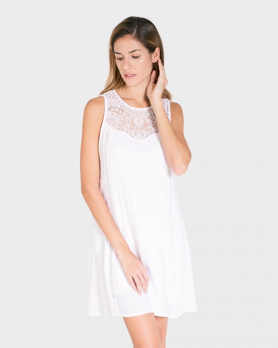 f29bcf55c2d5 Dámské plážové šaty L197292 bílá - Massana bílá S