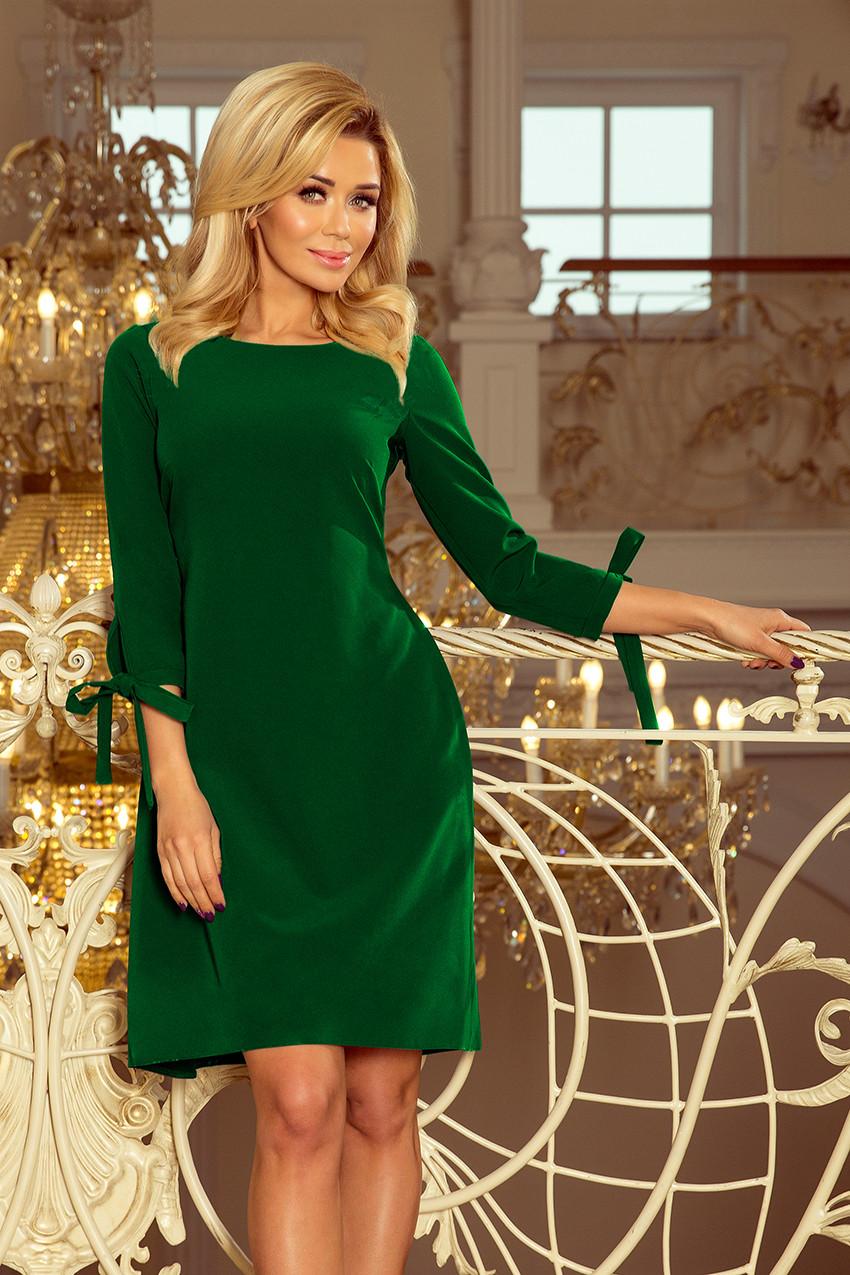 b4ef305d0c23 Dámské šaty 195-7 - Numoco tmavě zelená XXL